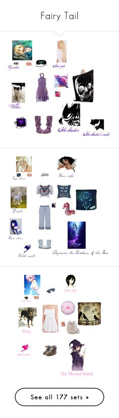 """Fairy Tail"" by fangirl-of-seto-kaiba on Polyvore featuring Sonia Rykiel, Muk Luks, Boohoo, Essie, For Love & Lemons, Marvel, H&M, Wet Seal, Monsoon and Disney"