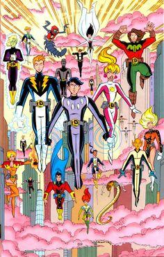 Legion of Super-Heroes by John Delaney, Ron Boyd (from Legion of Super-Heroes #100)