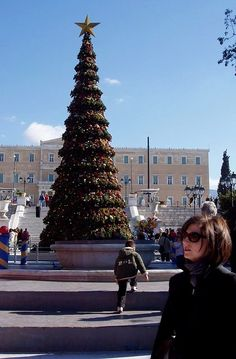 Christmas in Athens, Greece Attica Greece, Athens Greece, Places To Visit, Around The Worlds, Christmas Time, Holiday, Culture, City, Counting