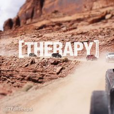 my kind of therapy.