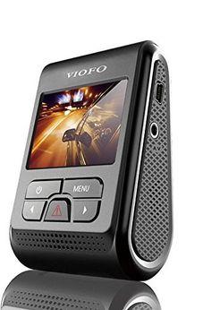 RtTech Viofo A119 Dash Cam Caméra de Voiture Full HD 1080p écran LCD 2 pouces Super grand angle 360 degrés, Processeurs puissants Novatek…