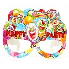 Happy Clown Design Paper Eye Mask