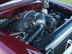 Lets see your engine bay... 1955 Chevy 1956