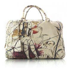 Fashionphile - PRADA Cervo Lux Fairy Fairies Bag LTD ED ❤ liked on Polyvore