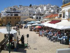 Albufeira  Algarve Portugal  I'm so ready for VACA!!!!!  That's a lie. I have a million things to do and I leave in two days and guess how many things I have packed. ZERO.