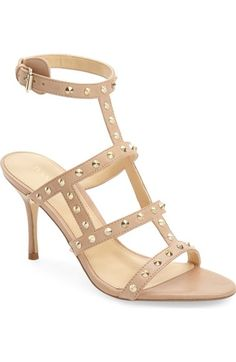 Ivanka Trump 'Gemima' Studded Strappy Sandal (Women) available at #Nordstrom
