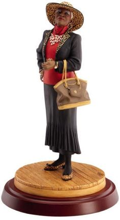 This page features Ebony Visions figurines and statues by Thomas Blackshear, Frank Morrison and John Holyfield. African Figurines, African American Figurines, Black Figurines, African American Artist, Thomas Blackshear, Animal Art Projects, Black Art Pictures, Art Africain, Black Artwork