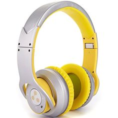 Special Offers - Syllable Foldable HIFI Stereo Wireless Bluetooth 4.0 NFC Double Moulds Noise Cancellation Headphone Earphone Headset for Any Device with Bluetooth Capability/ NFC Capability/3.5 mm Jack (Yellowish-white) - In stock & Free Shipping. You can save more money! Check It (June 15 2016 at 11:49AM) >> http://ift.tt/1rp2RUu
