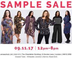 Anna Scholz Sample Sale -- London -- 09/11