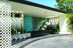mid century homes in miami | house (1958) by Miami's go to mid-century architect Morris Lapidus -he ...