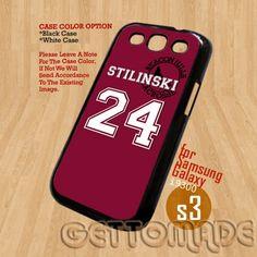 Teen Wolf STILINSKI lacrosse-Print On Hard Case Samsung GalaxyS3 i9300 | GetToMade - Accessories on ArtFire