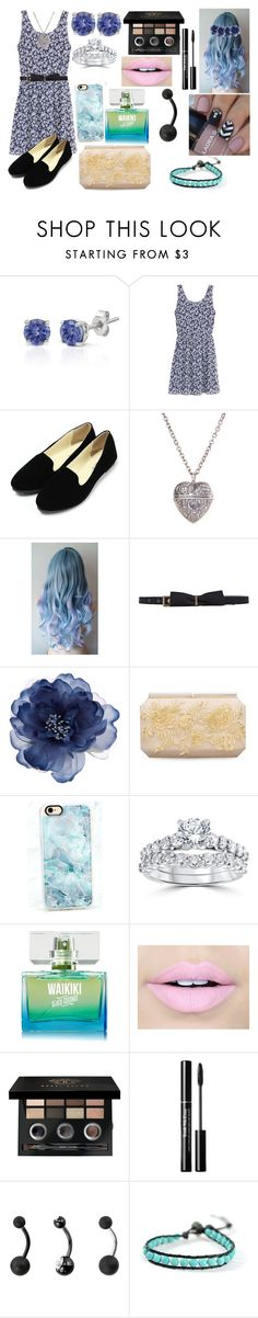 """Untitled #913"" by livvy-horan on Polyvore featuring Effy Jewelry, H&M, Lanvin, Accessorize, Oscar de la Renta, Casetify, Bliss Diamond, Fiebiger, Bobbi Brown Cosmetics and Target"