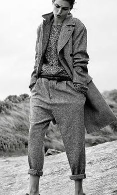 #Androgynous suit. ~ETS