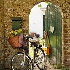 Green garden gate | Country garden design ideas | Garden | PHOTO GALLERY | Housetohome.co.uk