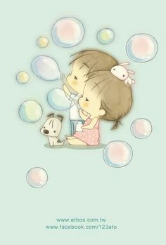 Bolle di sapone love