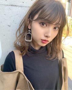 Pin on Nana Tanikawa❀谷川菜奈 Beautiful Japanese Girl, Japanese Beauty, Beautiful Asian Women, Asian Beauty, Hairstyles With Bangs, Pretty Hairstyles, Prity Girl, Sr1, Japanese Hairstyle