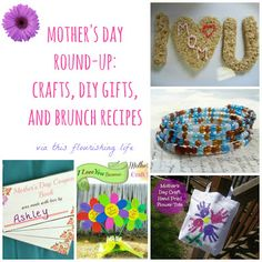 Mothers day round-up: crafts, diy gifts, and brunch ideas. Diy And Crafts Sewing, Diy Crafts For Gifts, Cute Crafts, Book Crafts, Super Easy Crafts For Kids, Crafts For Kids To Make, Crafts For Teens, Simple Crafts, Mothers Day May