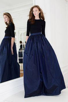 billowing ballgown skirt at Martin Grant Fall 2014