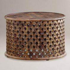 Tribal Carved Coffee Table