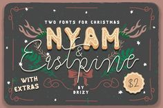 NYAM & Eastpine 99% off by Drizy on @creativemarket