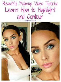 Beautiful Makeup Tutorial  Learn How to Highlight and Contour. This was a great step-by-step video that included drug store alternatives to designer make-up brands