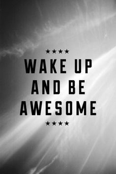 Be Awesome II - Art Print by Galaxy Eyes