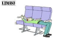 Dormire in Aereo Posizione IL LIMBO