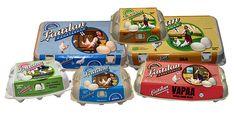 Meiltä löydät kaikki tuotantomuodot - vapaus valita millaisen kananmunan sinä haluat!