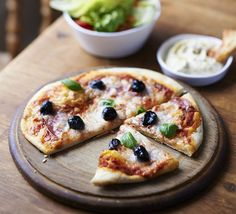 Summer holiday pizzas