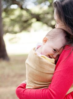 the sling diaries: bron and rose babywearing delight! #sakurabloom