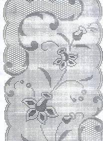 gráfico centro de mesa filé