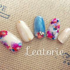 White + Blue + Bloom
