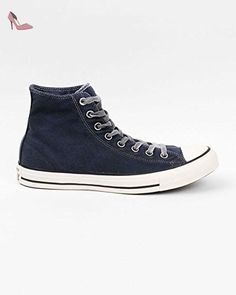 Chuck Taylor All Star HI SWEAT GRY/RD/BLK, Haut adulte mixte - Gris - Grau (gry/red/blk), 36 EUConverse