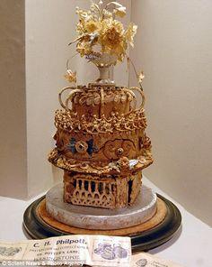 'Oldest wedding cake', 1898 | Retronaut