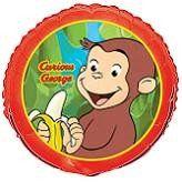 """18"""" Curious George Foil Balloon"""