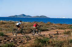 Paseo en bici por la costa de Cartagena
