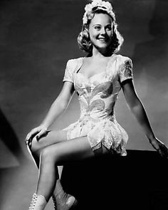 Sonja Henie...I'm named for the famed figure skater    I really was ..... my name is Sonja...