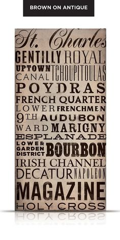 New Orleans print-it