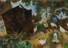 Tessa Newcomb (British born Allotment No. Garden Journal, Knife Art, Garden Painting, Source Of Inspiration, Art Images, Illustration Art, Illustrations, Allotments, Abstract Art