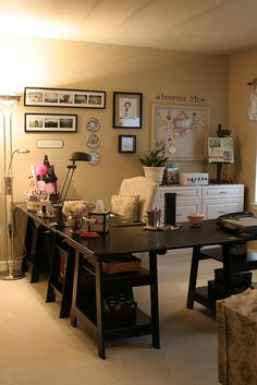 Craft room.