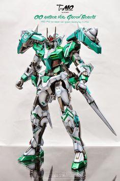 Go Kart Designs, Mythological Monsters, Gundam 00, T Mo, Green Beret, Gundam Model, Mobile Suit, Armored Vehicles, Anime