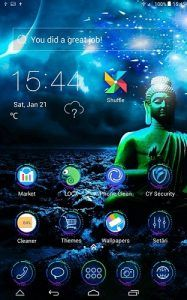 Gautham Buddha theme covers icons, wallpaper, folders, menus, skin and all launcher elements, to provide a complete set of phone's launcher beautification program!  Gautham Buddha CLauncher Theme features This theme is compatible to the wallpapers and lockers of similar products:...
