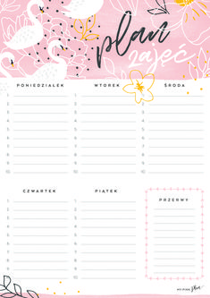 Layout Template, Templates, To Do Lists Printable, Schedule Design, Bullet Journal 2020, School Planner, Study Notes, Weekly Planner, School Design
