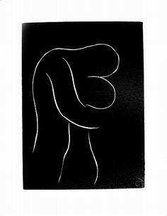 Henri Matisse, Pasiphae, vol I, Plate 29. - Linocut