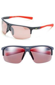 Nike 'Run X2' 69mm Sunglasses