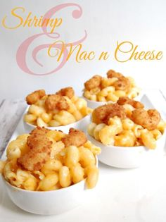Shrimp with Mac and Cheese - Easy Meals that Kids Love #Recipe #Kids