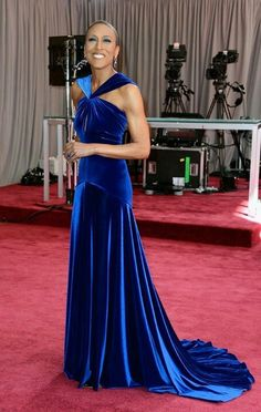 Robin Roberts on the Red Carpet. 2-24-13