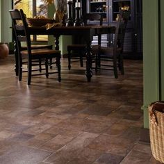 The stylish look of natural stone flooring can be yours at a fraction of the cost with this beautiful Innovations Tuscan Stone Terra Laminate Flooring.