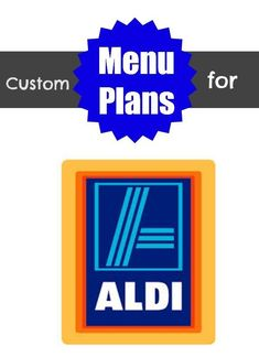 Custom menu plans for Aldi (and more stores too) 67 cents a week! Planning Menu, Planning Budget, Aldi Recipes, Real Food Recipes, Aldi Shopping, Shopping Tips, Aldi Meal Plan, Meal Prep, Christian Homemaking