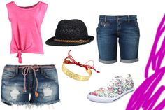 fashion#, moda#, spodenki#, trampki#